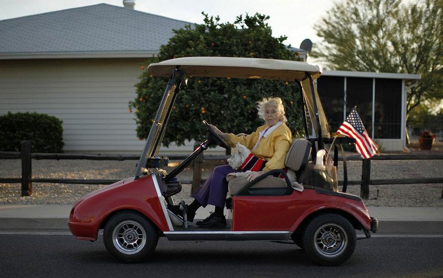 американская пенсионерка