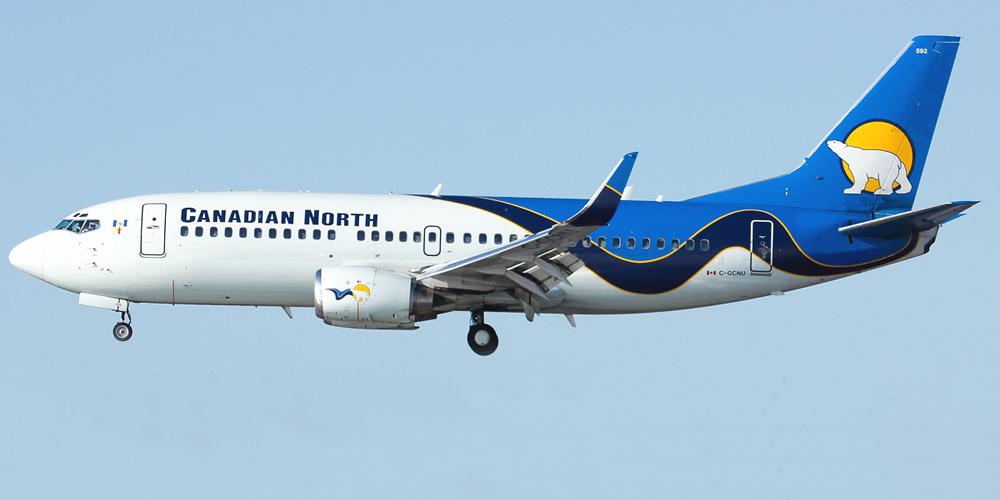 Самолёт авиалиний Канады