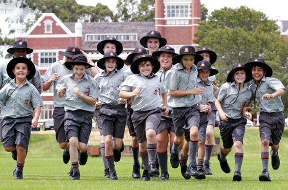 Австралийские школьники