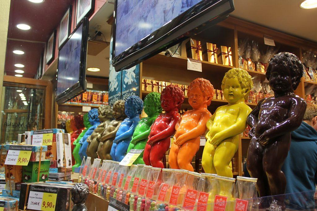 В бельгийском магазине