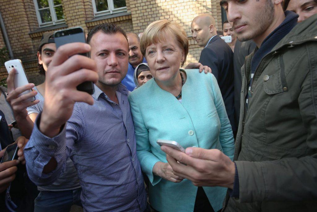 Беженцы Германии