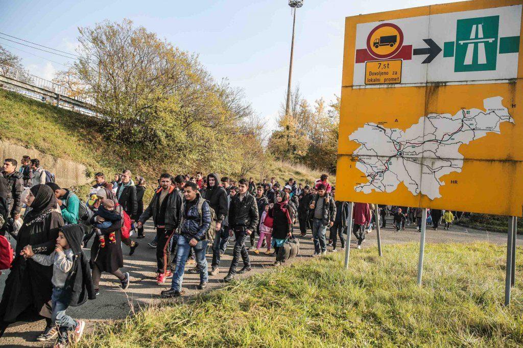 Беженцы в Словении
