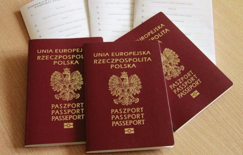Биометрические паспорта граждан Польши