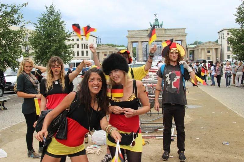 Бельгийская молодёжь