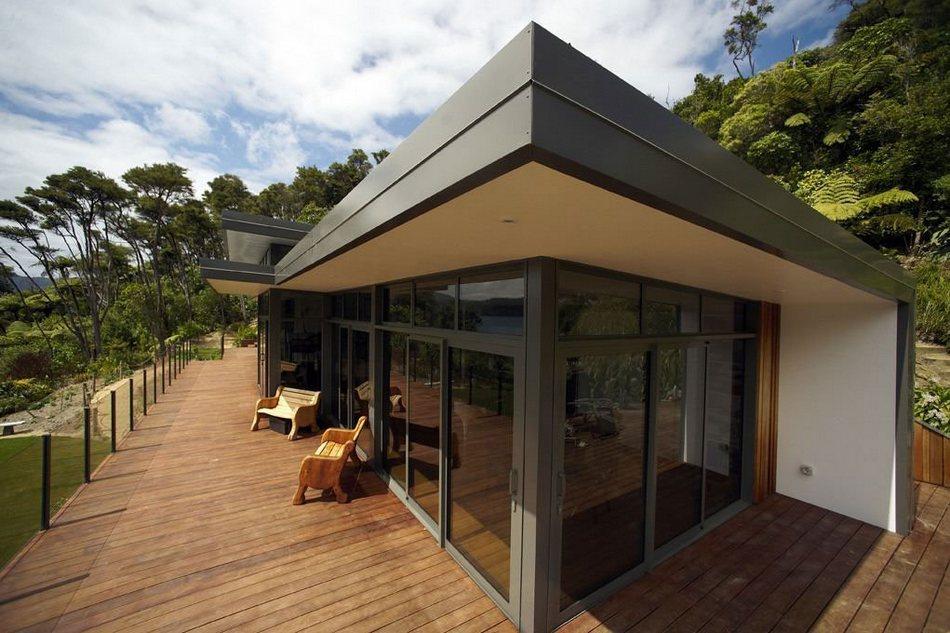 Домик в Новой Зеландии