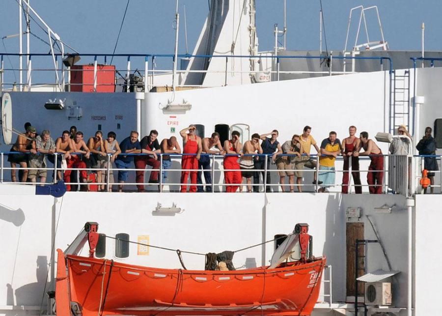 Экипаж торгового корабля