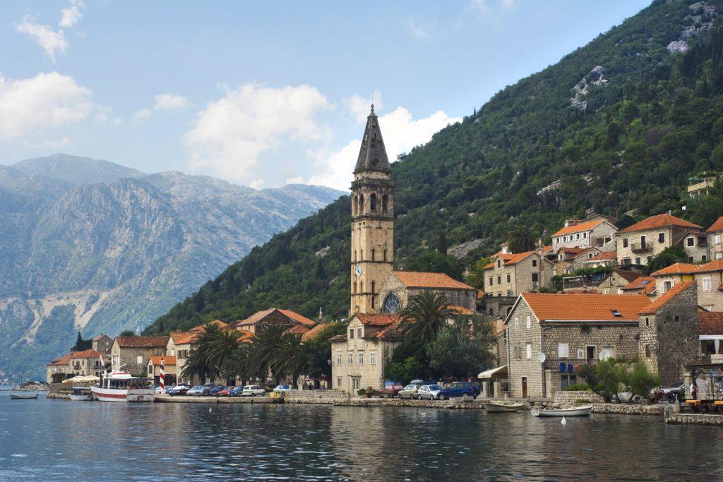 Городок Пераст, Черногория