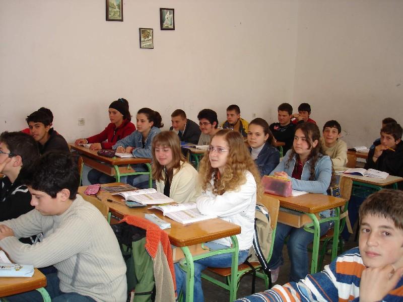 Греческие школьники