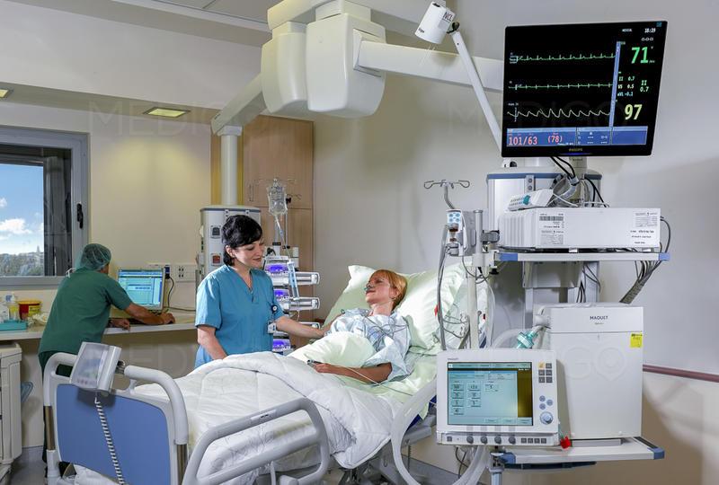 В израильской больнице
