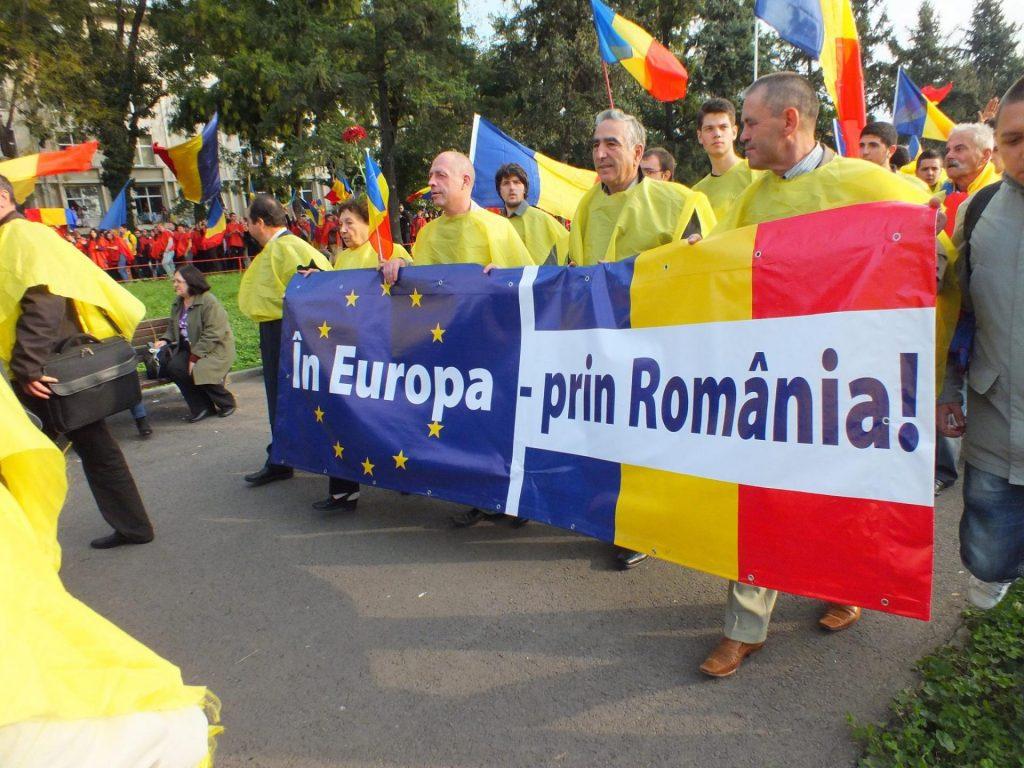 Демонстрация юнионистов в Кишинёве