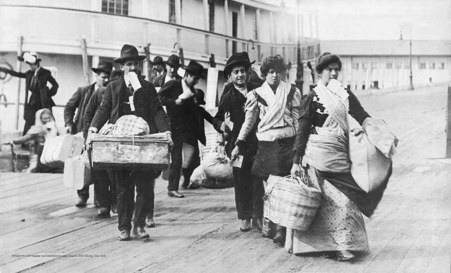 Иммигранты в США в начале 20 века