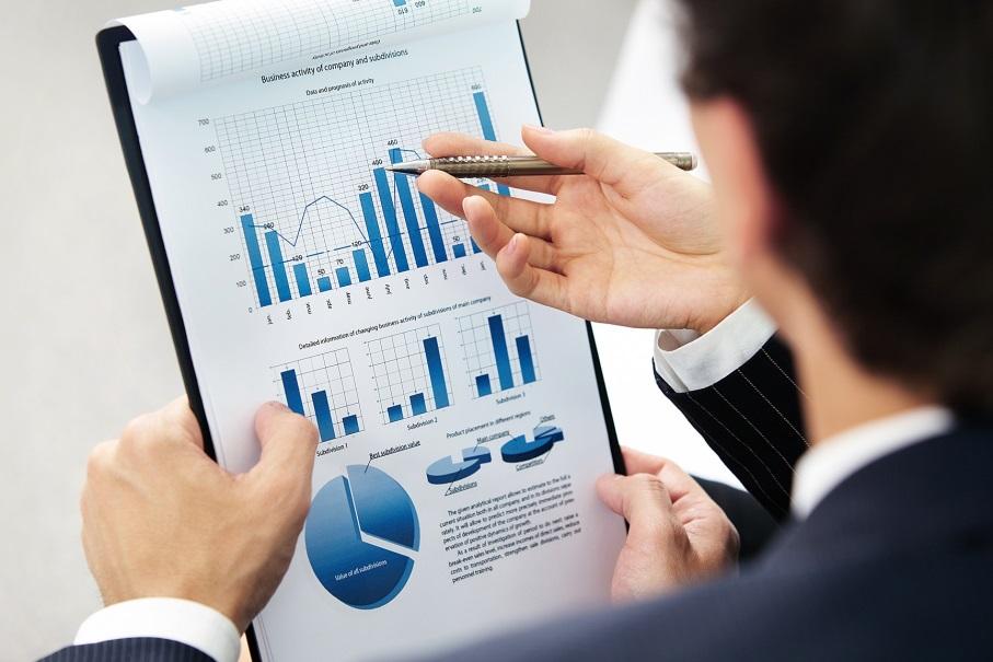 Инвестор рассматривает график