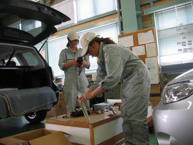 Японские работницы