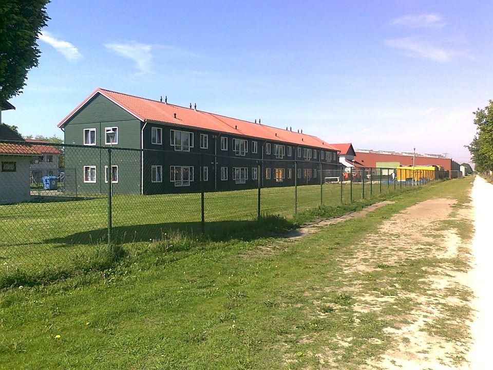 Лагерь для беженцев в Бельгии