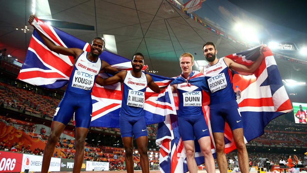 легкоатлеты Великобритании