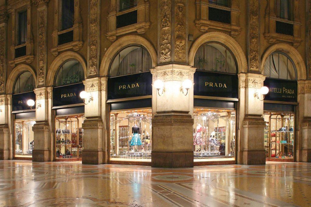 магазины модной одежды в Милане