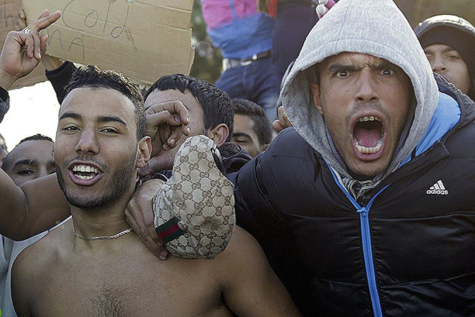 Нелегалы из стран Ближнего Востока