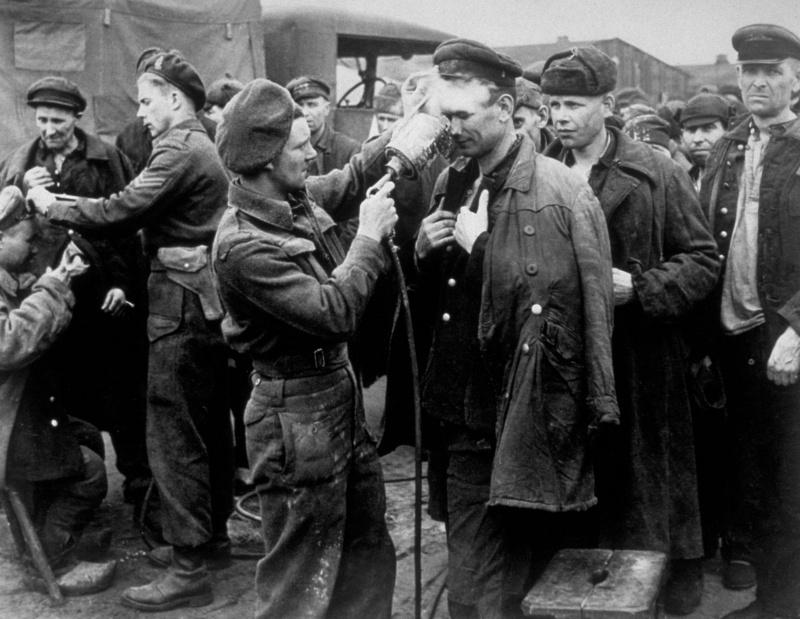Освобождение союзниками советских военнопленных
