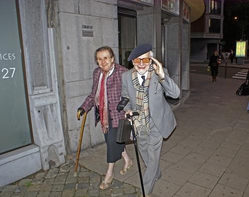 Пожилая бельгийская пара