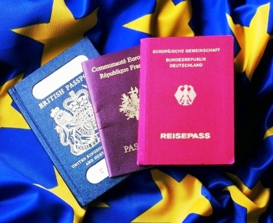 Паспорта стран-членов ЕС