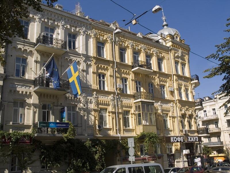 Посольство Швеции
