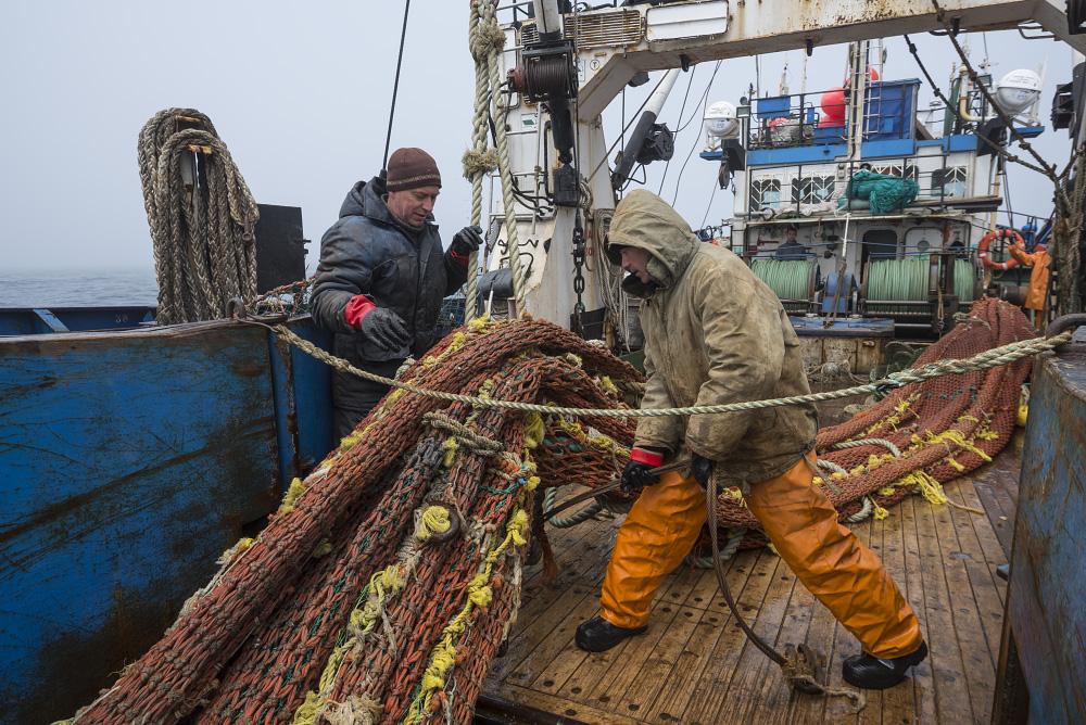 Работа на рыболовецком судне