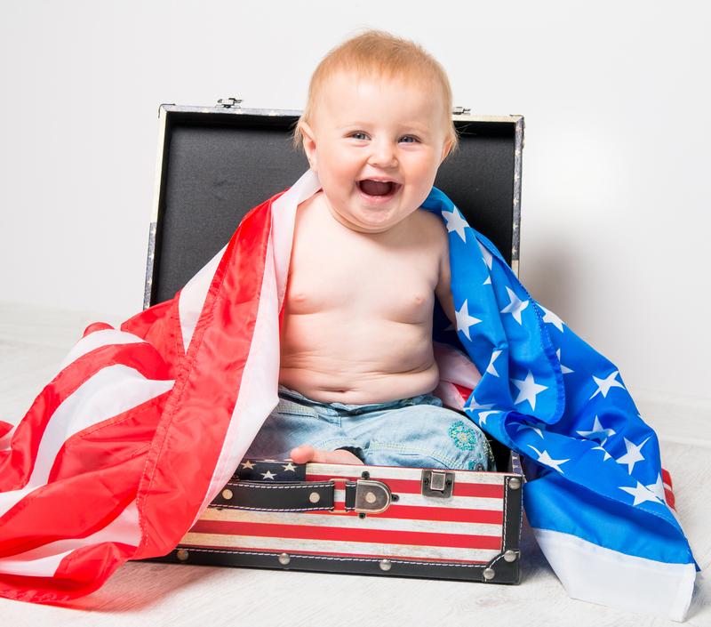 Младенец в чемодане
