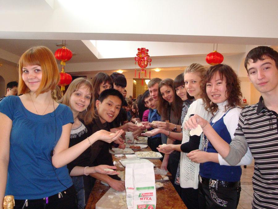 русские студенты в китае
