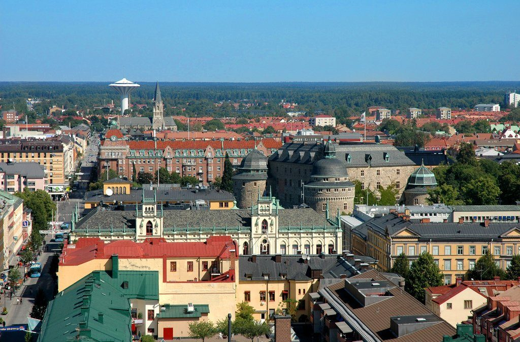 Шведский город