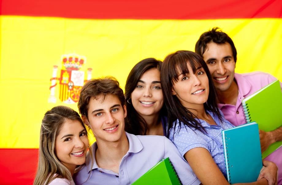 студенты в Испании