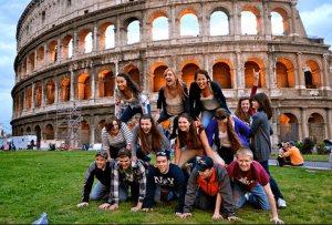 Студенты в Италии