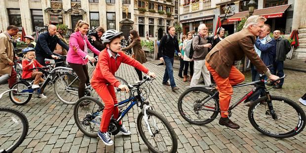 Бельгийцы на велосипедах