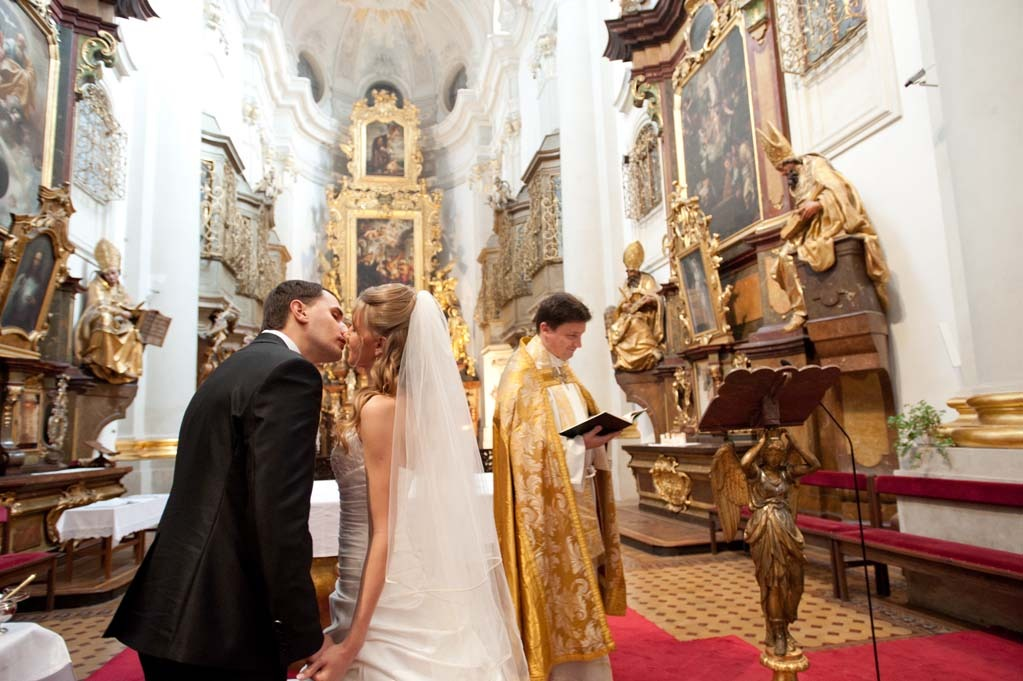 Венчание в католическом соборе