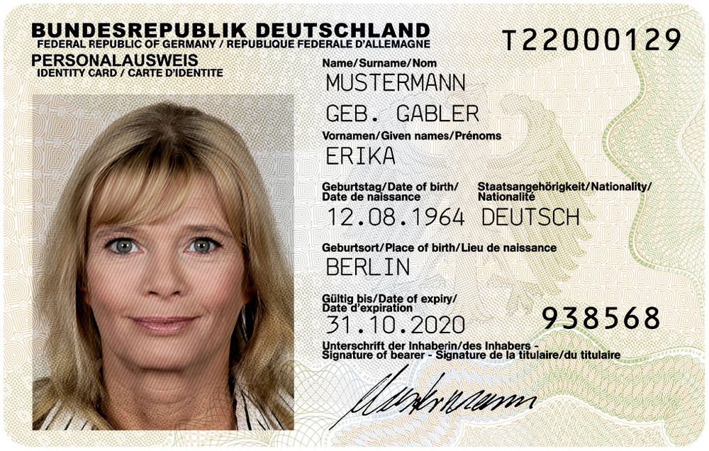 ID-карта Германии