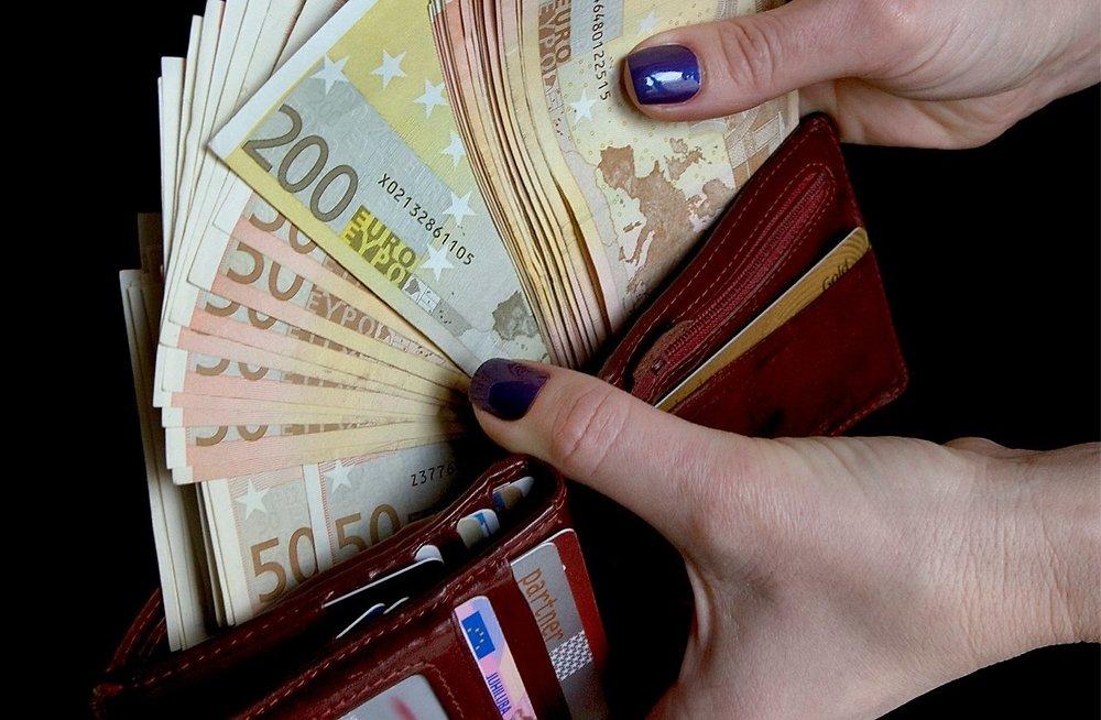 Выплаты в евро