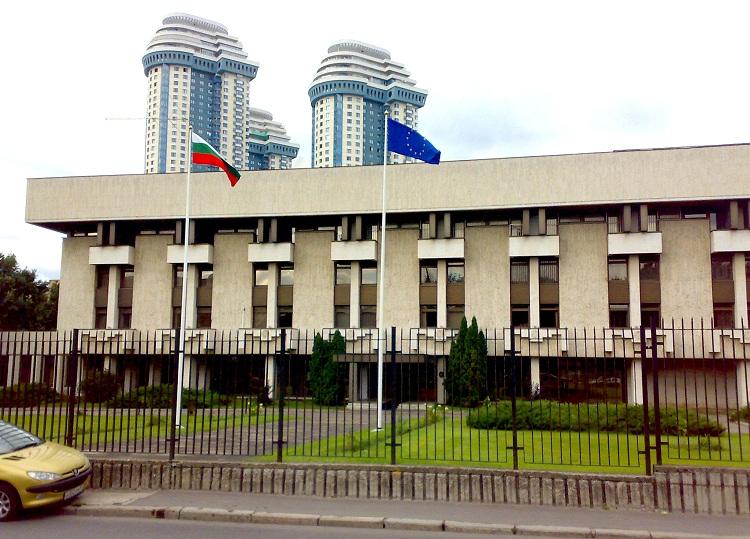 Здание посольства Болгарии в Москве