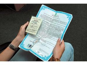 Выдача временного документа