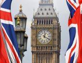 Биг Бен и флаги Великобритании