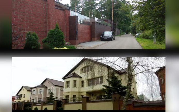 Дом Виктора Януковича в России