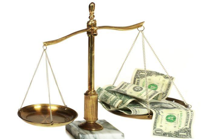 Весы бюджета