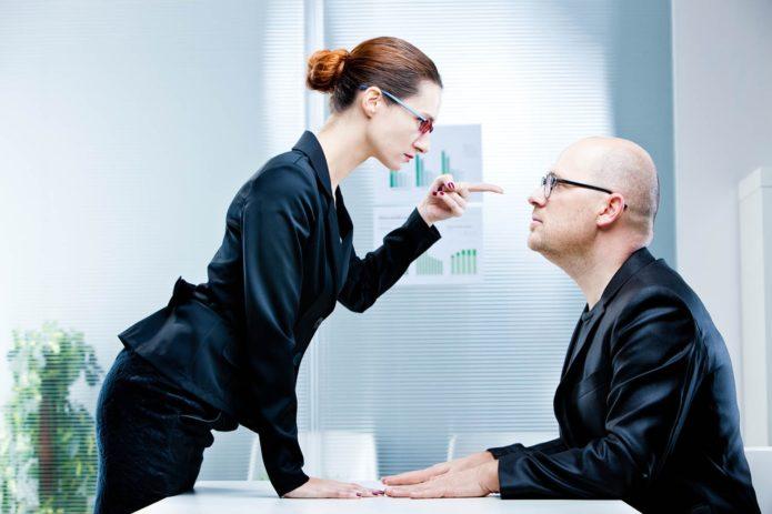Спор с начальником