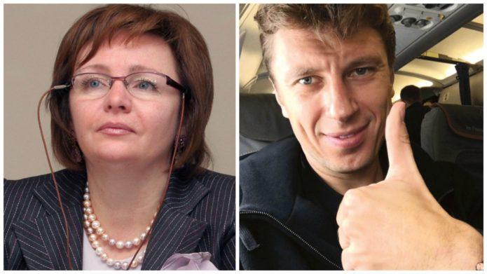 Людмила Путина и её нынешний муж Артур Очеретный
