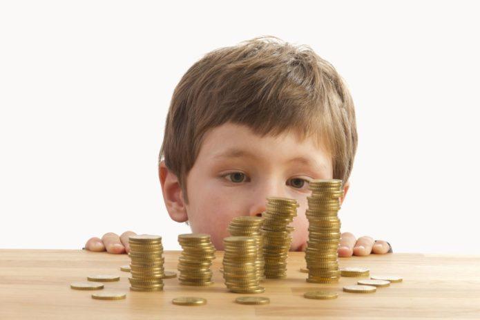 Алименты в твёрдой денежной сумме