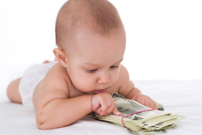 Младенец и деньги