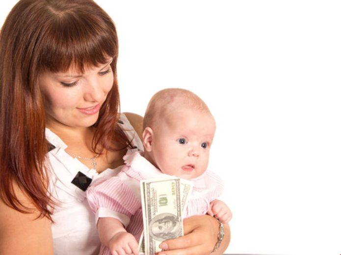 Выплаты на ребёнка, если нет отца