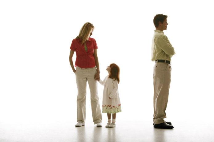 Алименты в случае развода