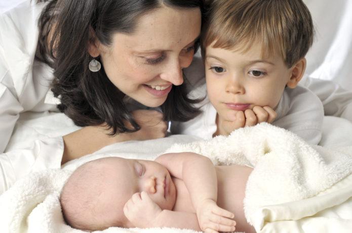 Появление в семье второго ребёнка
