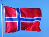 Развивающийся флаг Норвегии